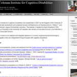The Coleman Institute for Cognitive Disabilities