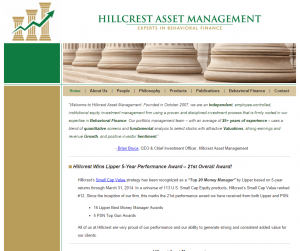 Hillcrest Asset Management